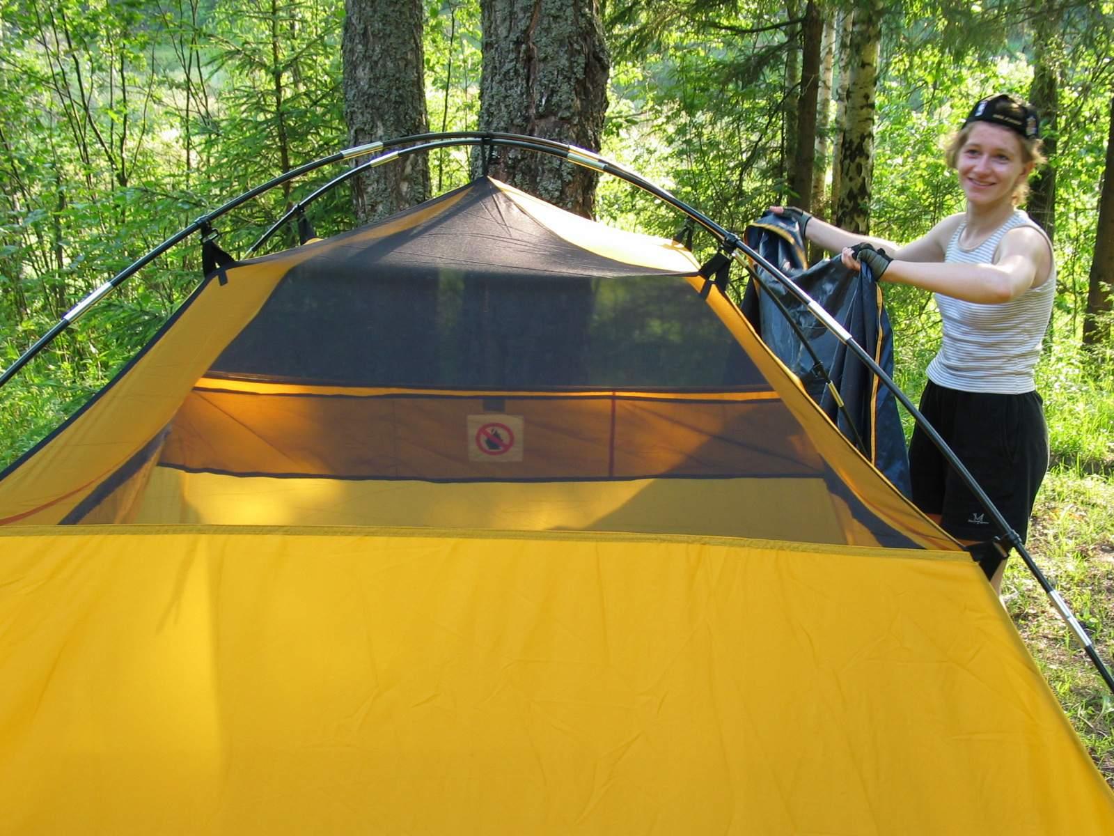Внутренняя палатка полусфера